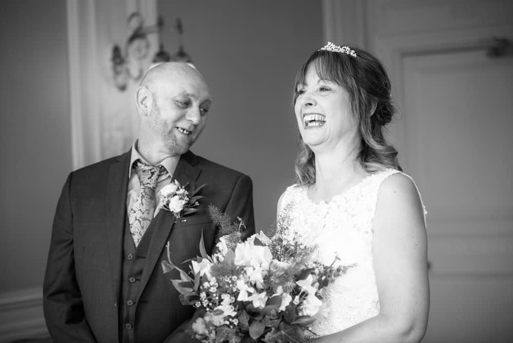 Ceremony laughs, Merewood Country Hotel Hotel weddings, Lake District