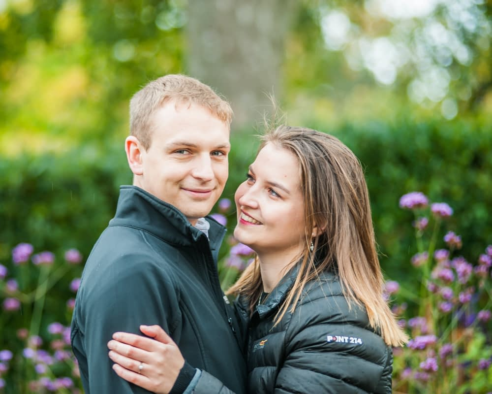 Flowers and laughter, Sheffield wedding photographers