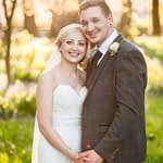 Posing in the grounds, Wortley Hall, Sheffield wedding photography