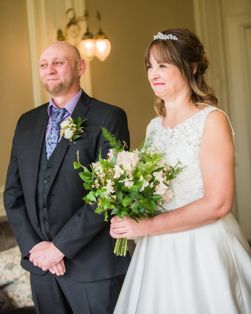 During the wedding ceremony, Merewood Country Hotel Hotel weddings, Lake District