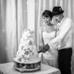 Cake cutting at Wortley hall in Sheffield
