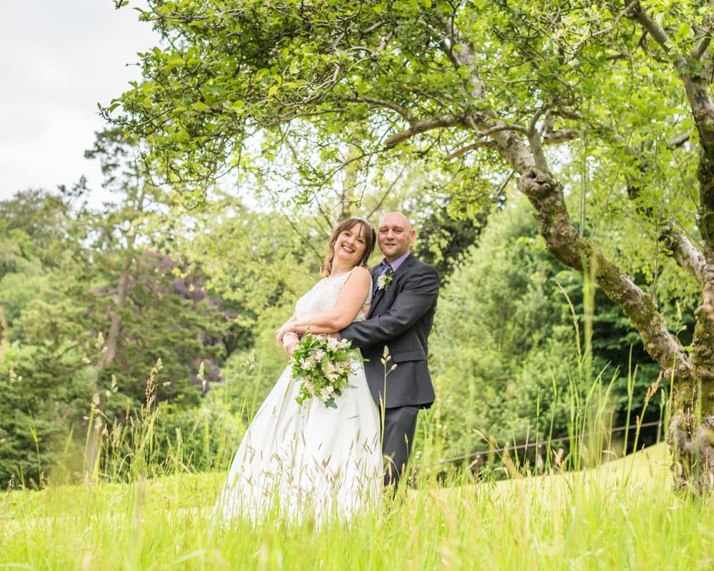 Long grass portraits, Merewood Country Hotel Hotel weddings, Lake District