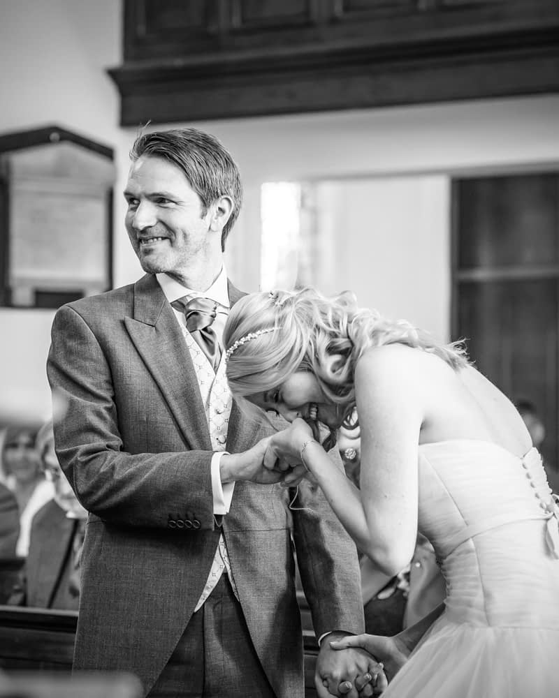 Laughter during ceremony, Maynard wedding, Sheffield photographers