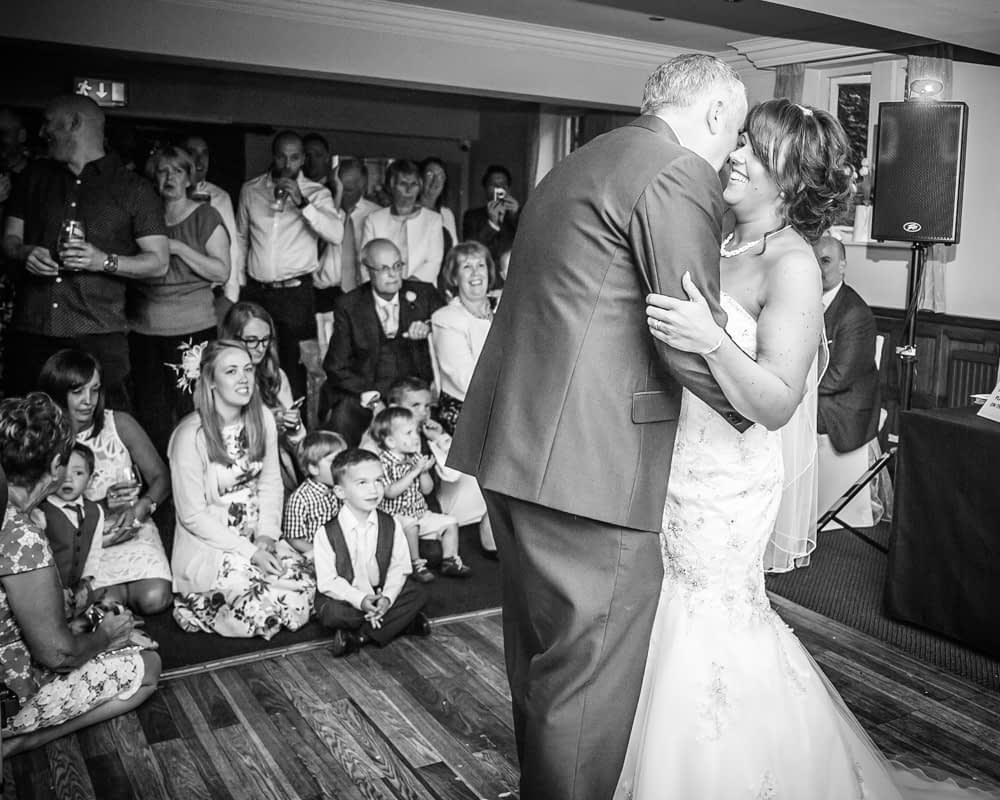 First dance, Whitley Hall weddings, Sheffield wedding photographers