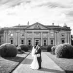 Kisses outside Wortley hall in Sheffield