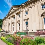 Wortley Hall in the summer