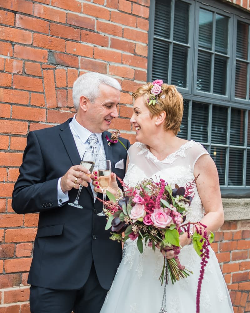Cheers, Chimney House, Sheffield wedding photographers