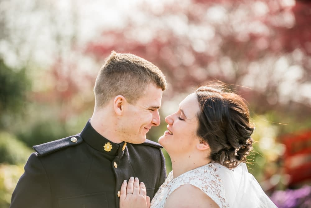Looking at each other, Gretna Green weddings