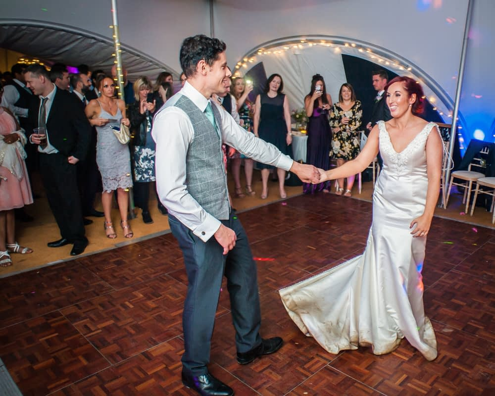 First dance, Sheffield wedding photographers