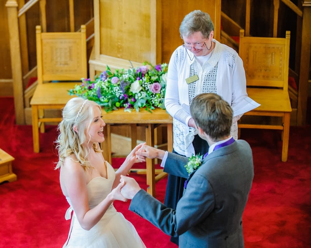 Just married excitement! Maynard wedding, Sheffield photographers