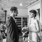 Ring exchange at Wortley Hall in Sheffield