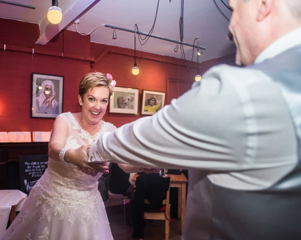 First dance, Harland Cafe Sheffield
