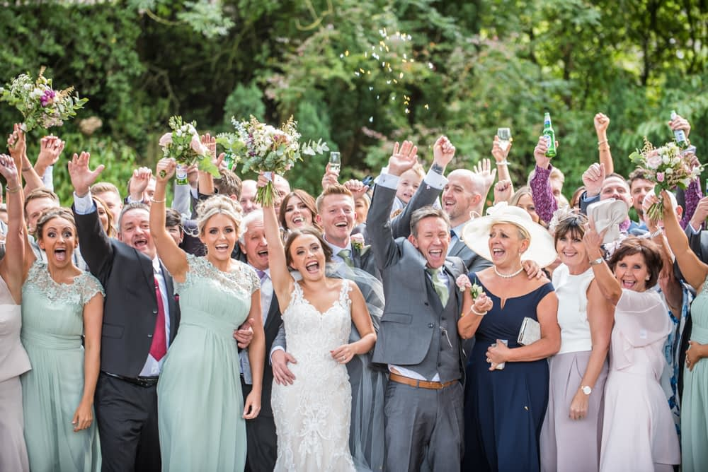 All group fun photographs at Mosborough Hall, Sheffield