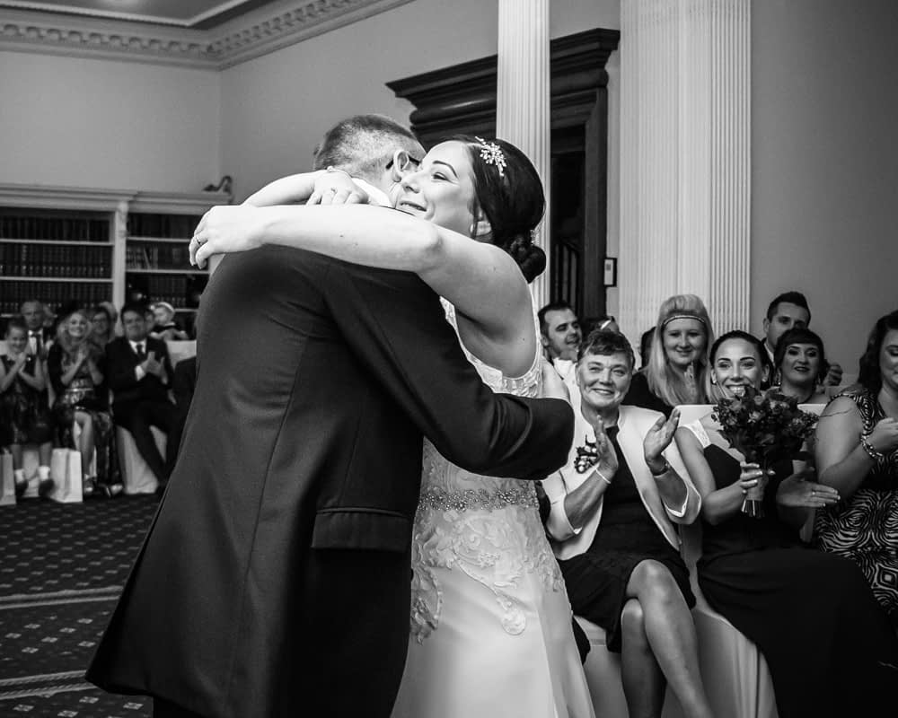 Just married, Wortley Hall wedding, Sheffield wedding photographers