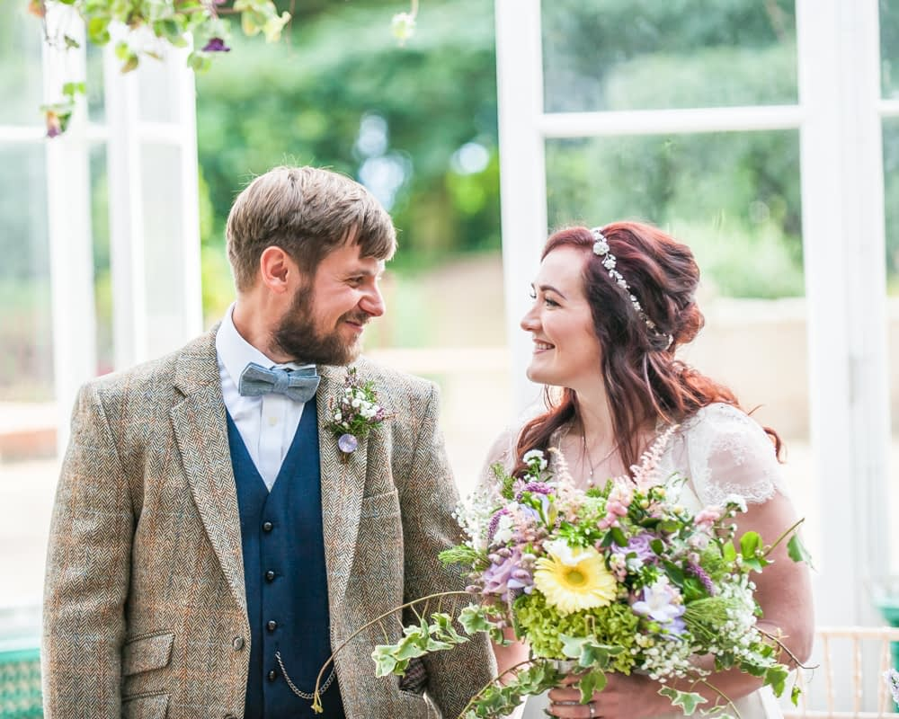 Just married!  Wentworth Castle Garden wedding, Sheffield photographers
