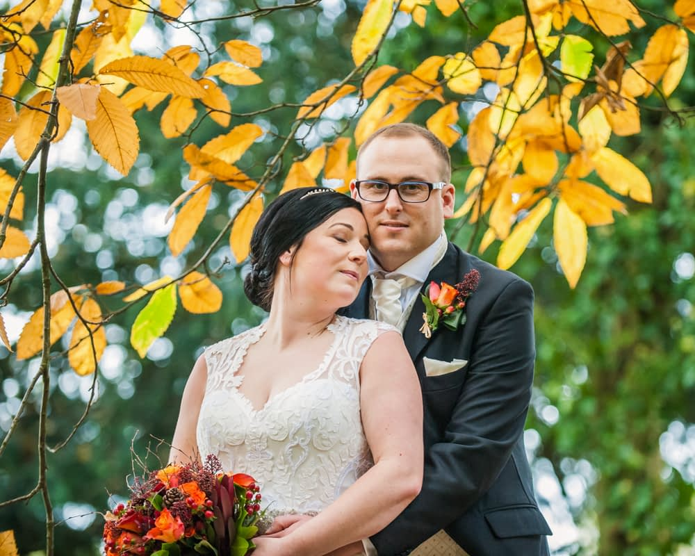 Cuddles for Stacey and Matt, Wortley Hall wedding, Sheffield wedding photographers