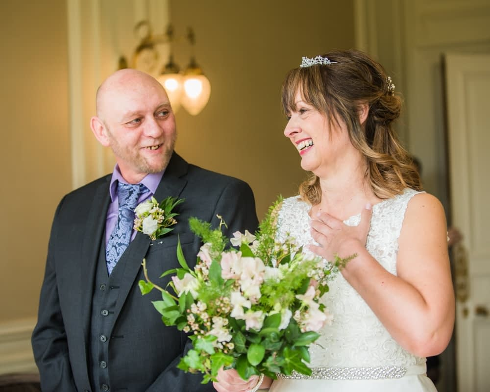 Ceremony laughter, Merewood Country Hotel Hotel weddings, Lake District