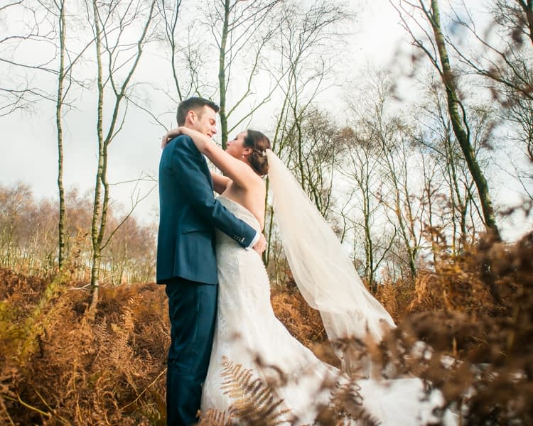 Surprise View wedding photos for Sheffield couple