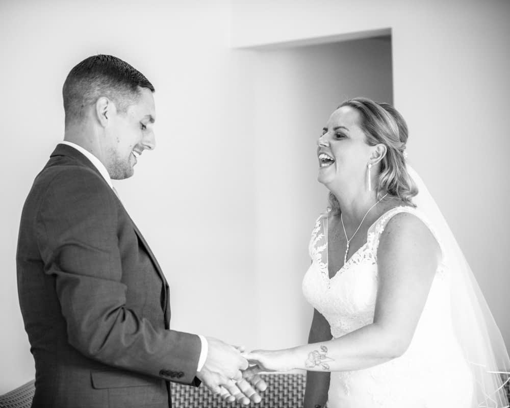 Ceremony laughter, Windermere weddings