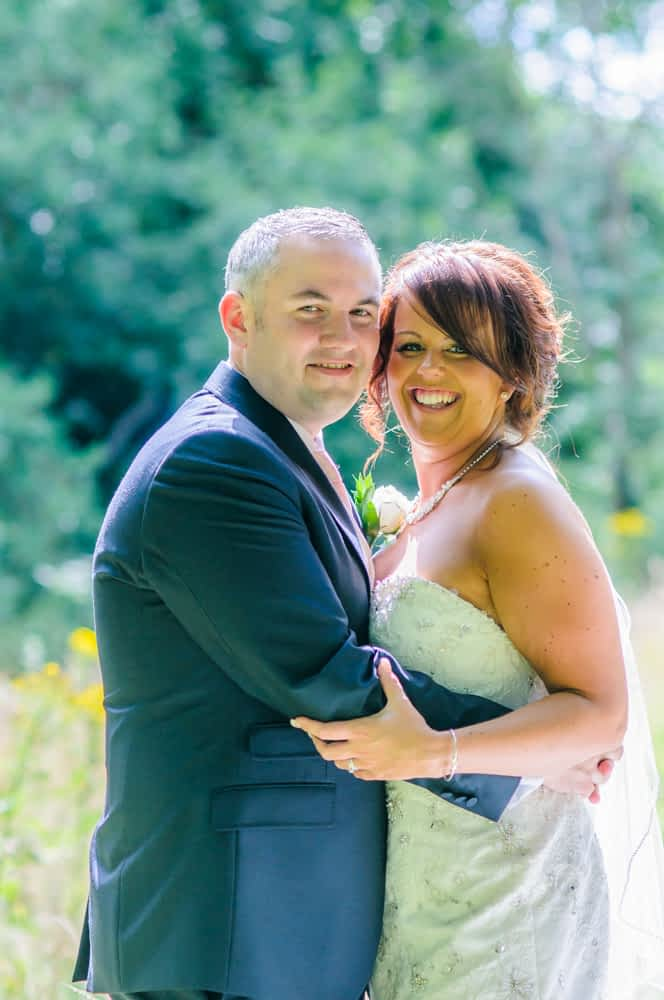 Smiles in the sunshine, Whitley Hall weddings, Sheffield wedding photographers