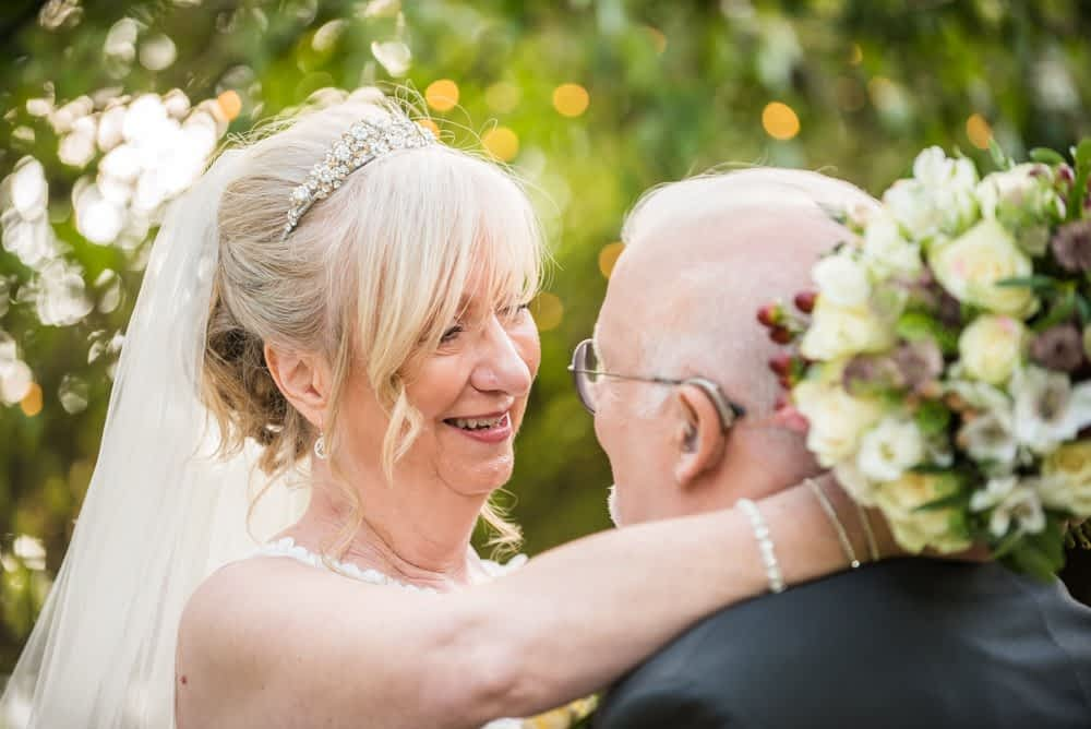 The look of love,  Hotel Van Dyk wedding photography Chesterfield